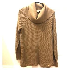 Michael Kors sweater in tan/light brown color